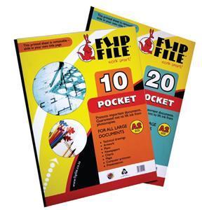 Flip File A2 20 Page Kangaroo