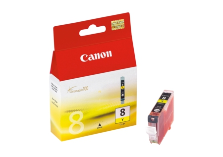 Canon CLI8 Yellow Ink Cartridge