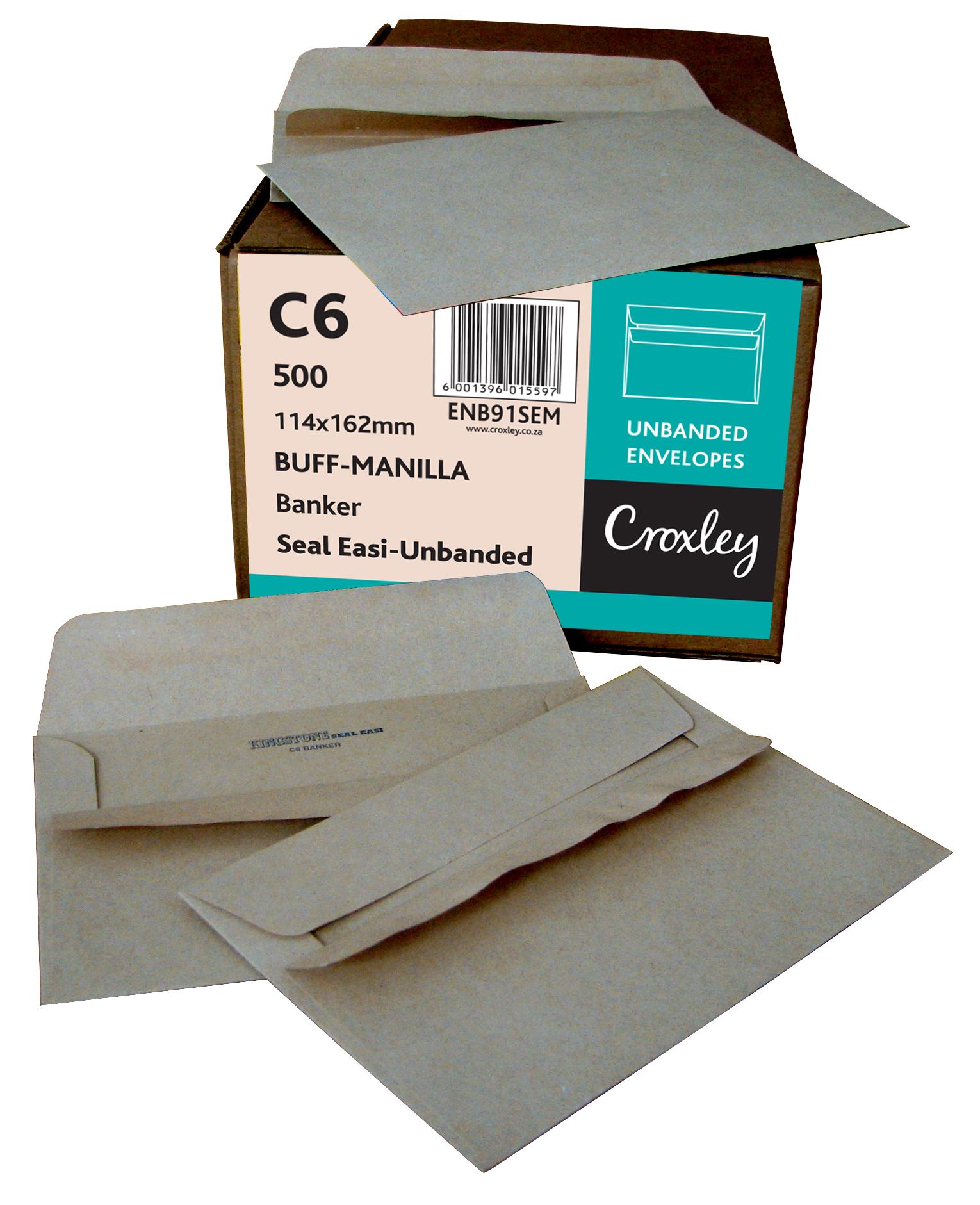 C6 Croxley Brown Seal Easi Unbanded (Kingstone)