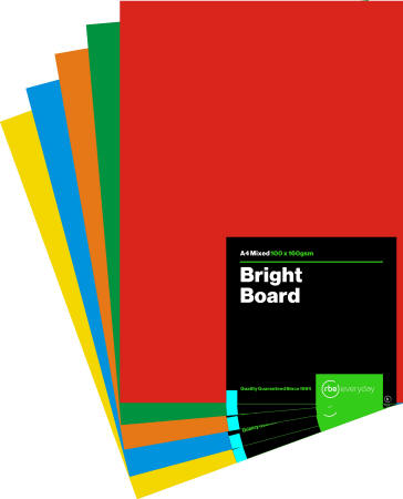 Bright Board Mixed A4
