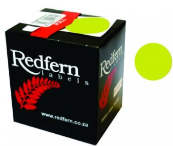 Redfern C19 Label Fluor. Green