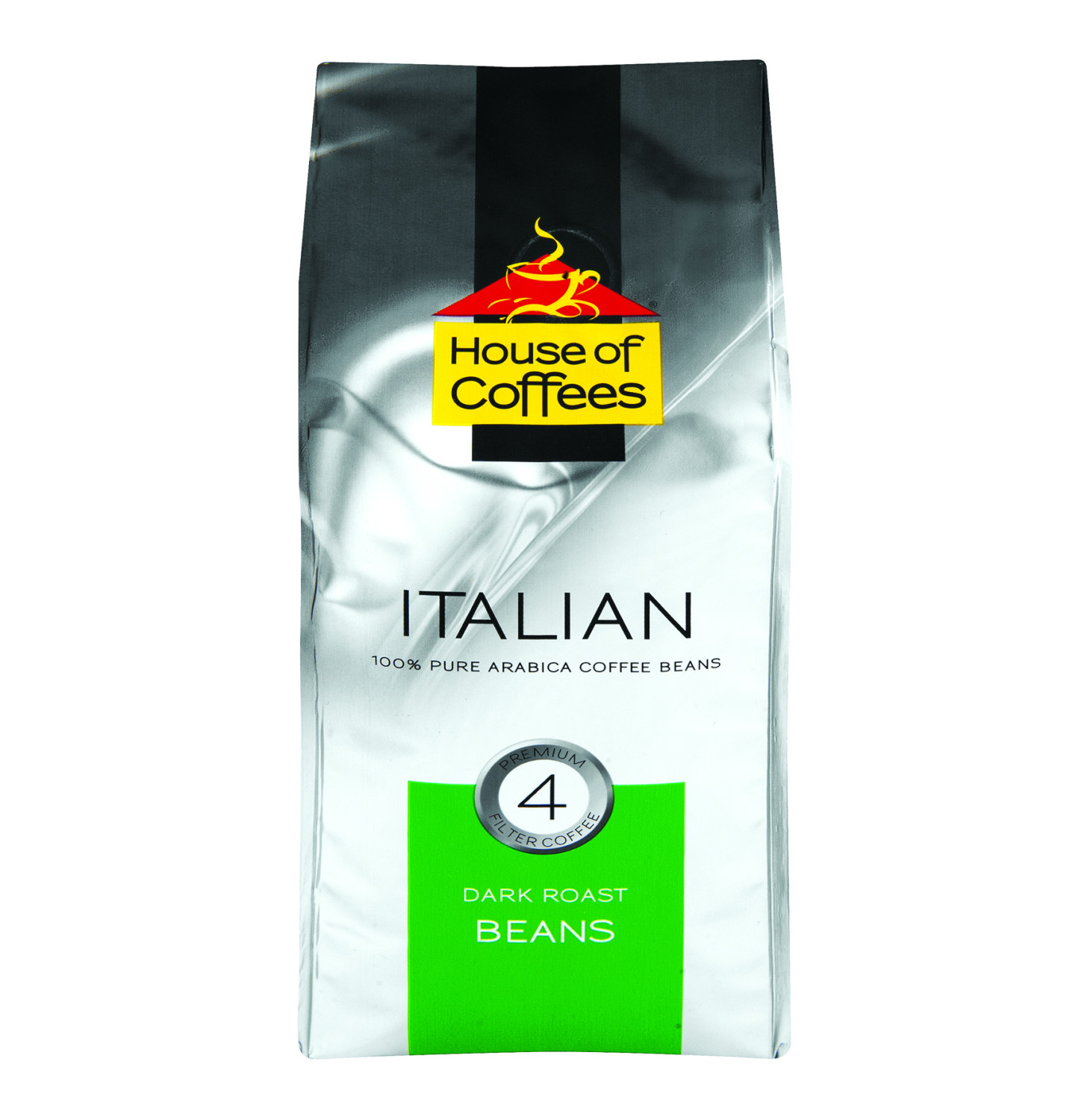 House Of Coffee Beans Italian Blend 250g