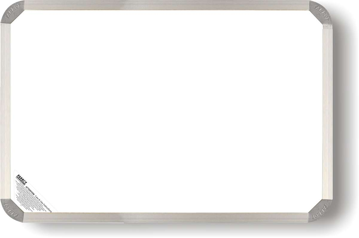 Parrot Whiteboard Non Magnetic 1500mmx900mm