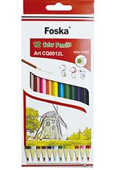 Foska Colour Pencils 12's Short