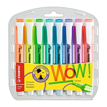 Stabilo Swing Cool Highlighter - Set 8