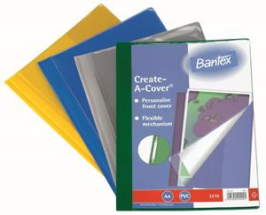 Bantex A4 Create Quotation Red