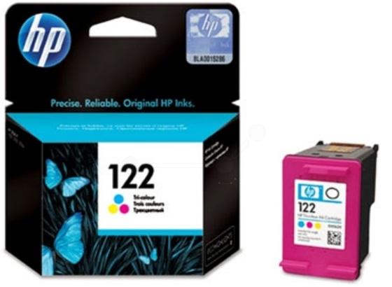 HP 122 Tri-Colour Ink Cartridge