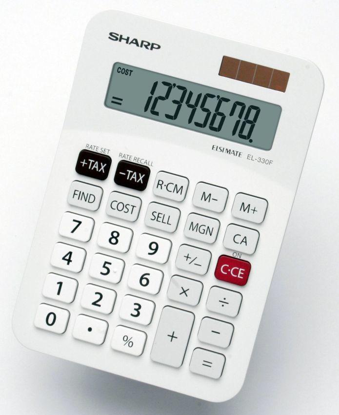 Sharp EL330FD Calculator Blister Pack