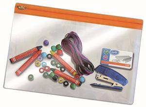 Bantex A4 PVC Zip Bag Assorted