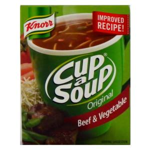 Cup A Soup-Beef and Veg
