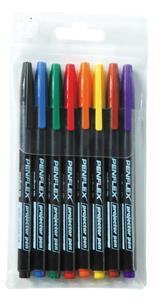 Penflex OHP Pens Permanent Wallet 4 Fine
