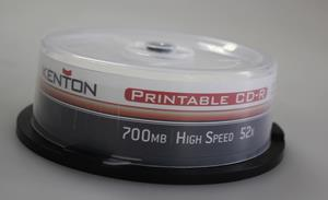 Kenton Printable CD-R Grade A 50's Spindle