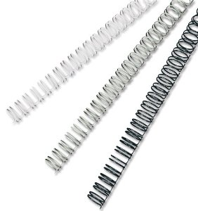 Rexel 14mm - 21 Loop Black Wire Binding