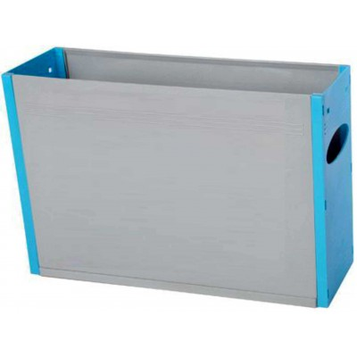 Tidy Files Solid Plastic Container A4-Light Blue
