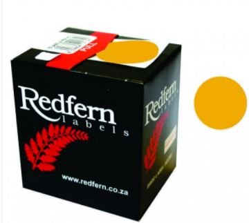 Redfern C19 Label Fluor. Orange
