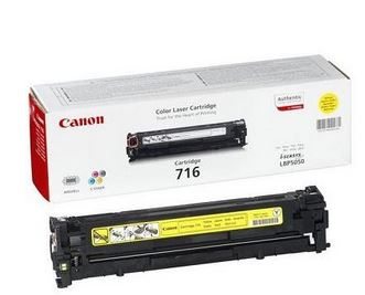 Canon 716 Yellow Cartridge