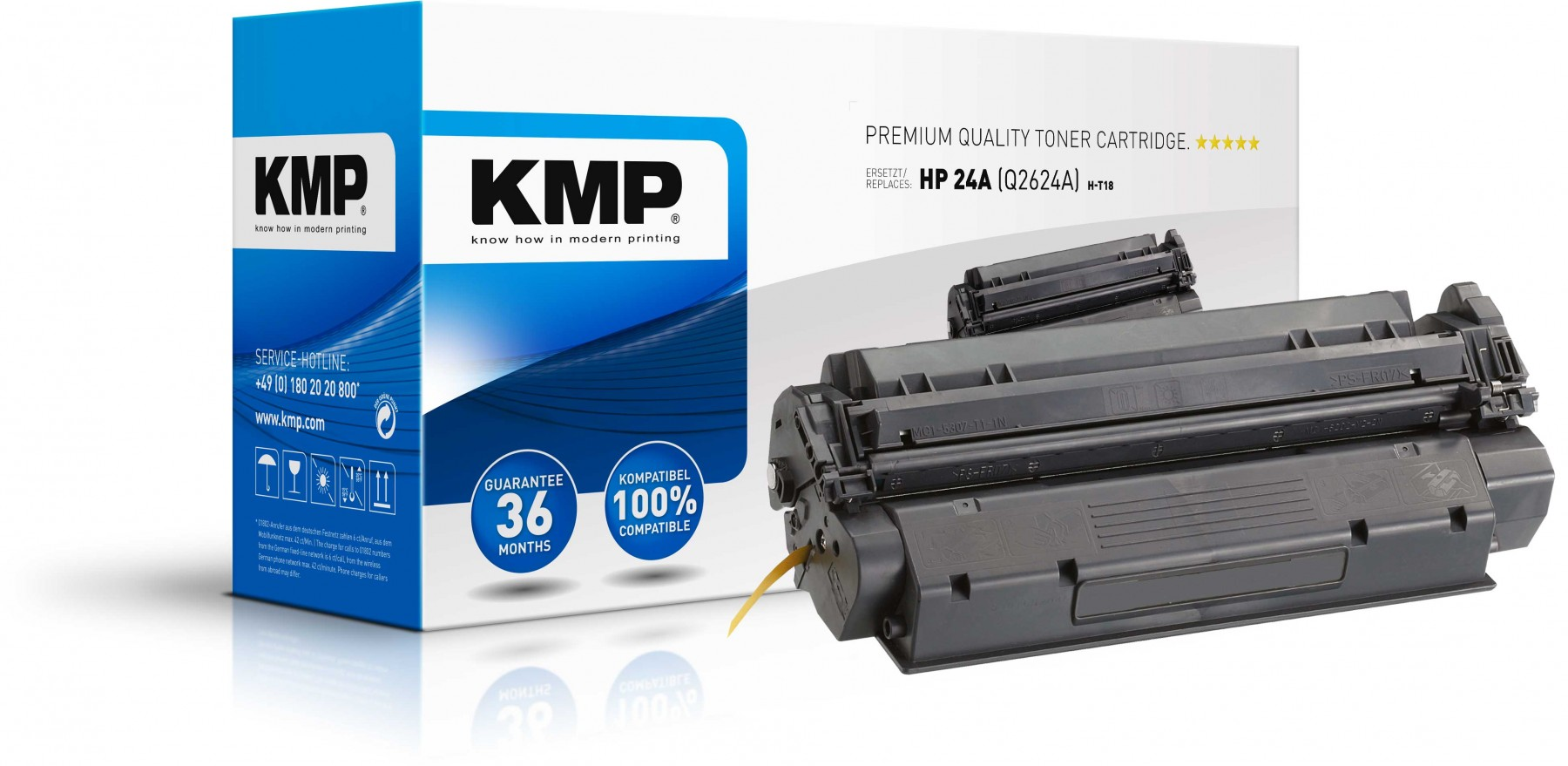 HP LaserJet Q2624A Toner Compatible