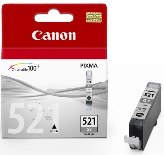 Canon CLI521 Grey Ink Cartridge