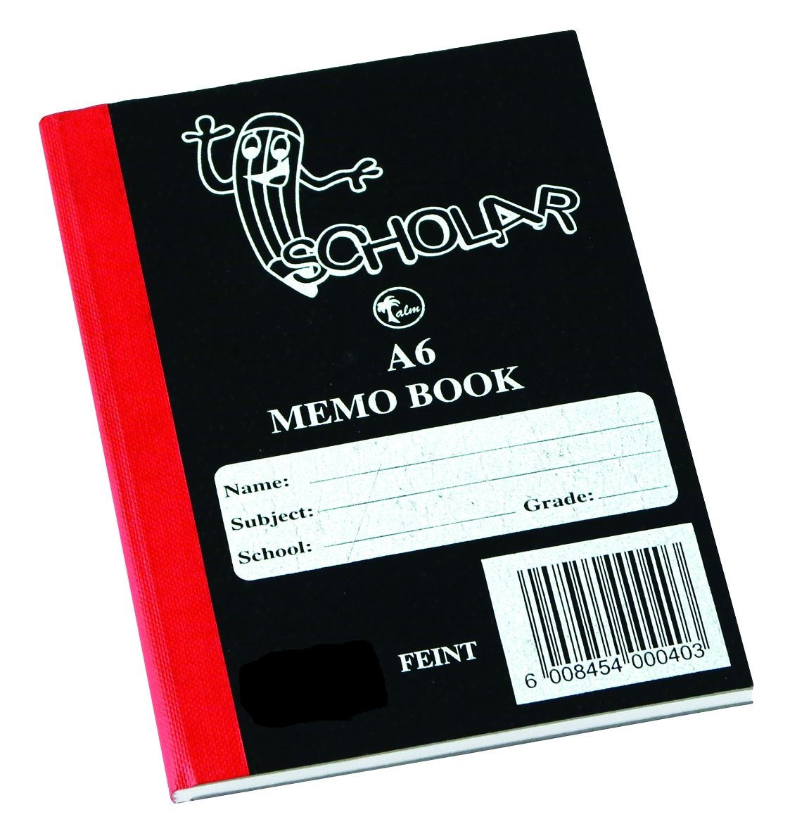 Memo Book A6 144PG Hard Cover