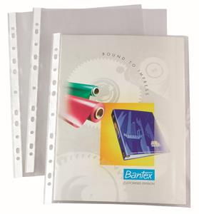 Bantex A4 Multi Punched Pockets