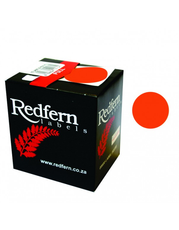 Redfern C25 Label Red