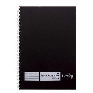 Croxley JD382 A4 100 Page Ruled, Feint-Margin Counter Book