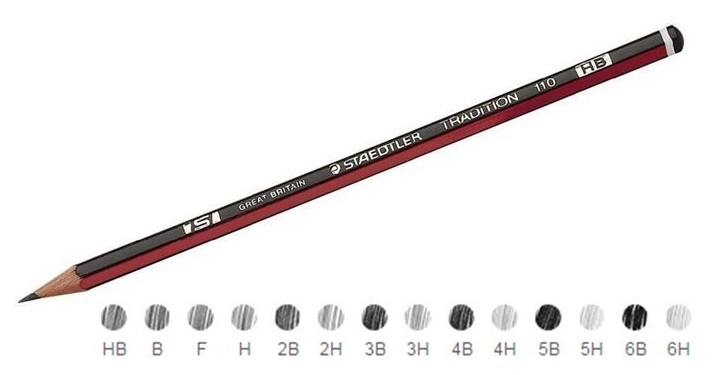 Staedtler Tradition Pencils 2B