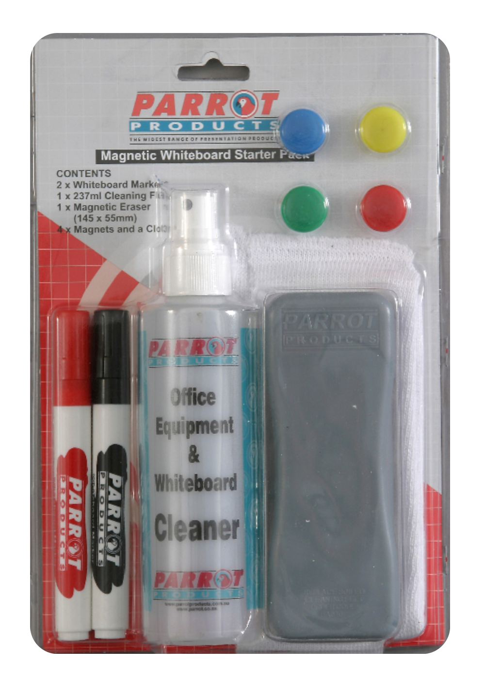 Parrot Starter Pack Whiteboard Magnetic