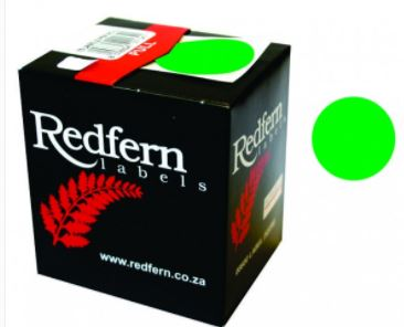 Redfern C19 Label Green