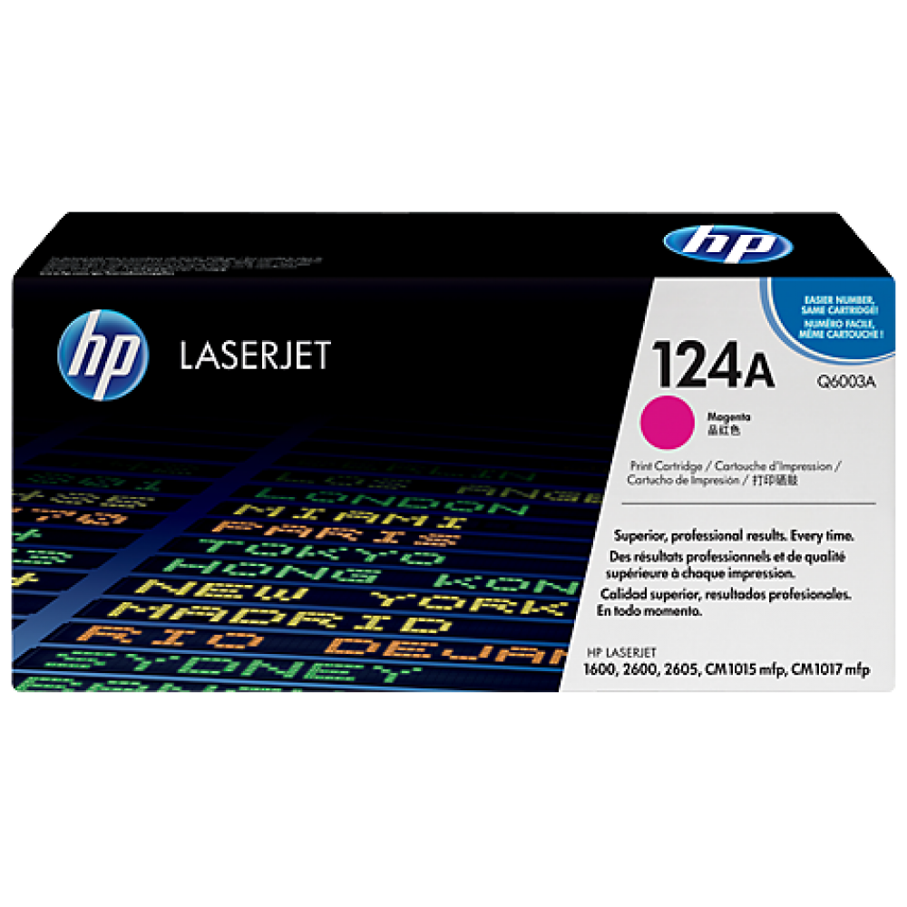 HP Laserjet 2600-2605-1600 Magenta Cartridge