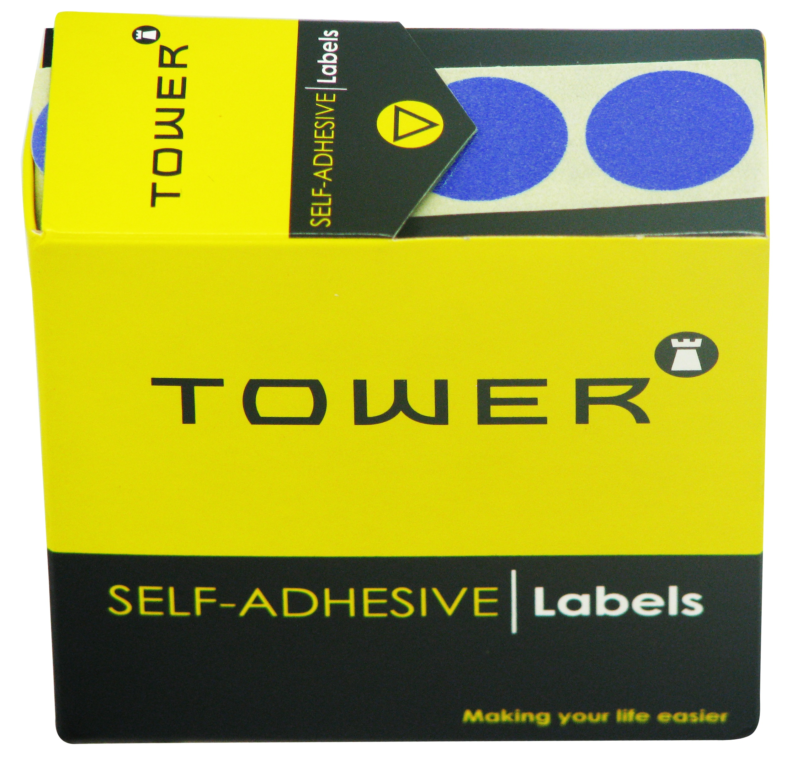Tower C25 Label Blue