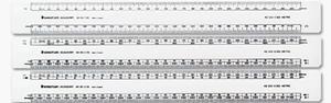 Shatterproof Ruler 30cm
