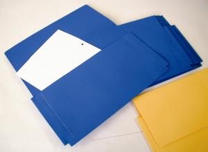 Donau Document Wallet Board 180g - Blue