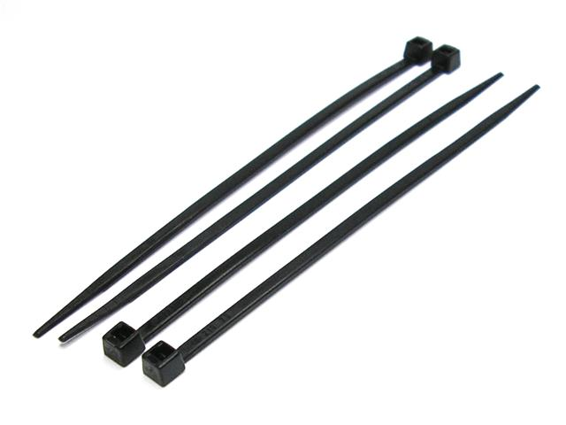 Black Cable Ties 198x4.7mm