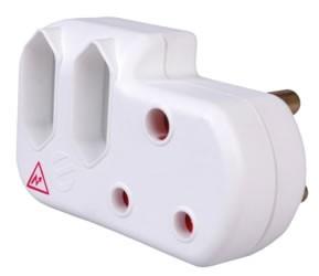 Ellies Surge Protected Adaptor (2 x Adaptor)