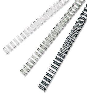 Rexel 12.5mm - 34 Loop White Wire Binding
