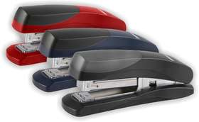 Parrot Staplers Plastic Med 105x(24-6 26-6) Red 20 Pages