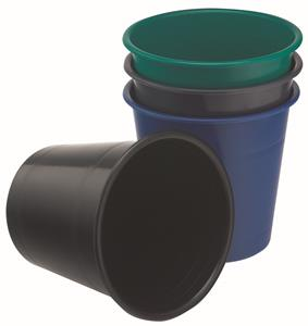 Bantex Wastebin 10L Black