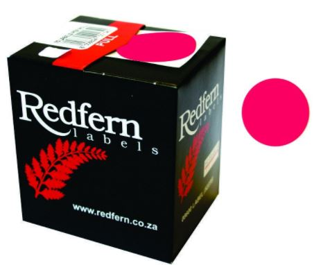 Redfern C19 Label Fluor. Pink