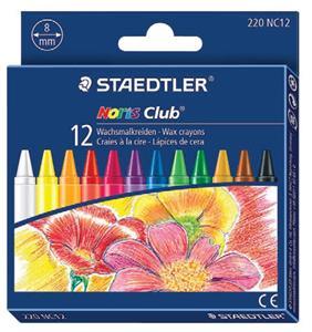 Staedtler Noris Wax Crayons 12'S