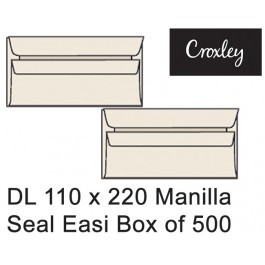 Croxley Envelopes Dl 110x220 Seal Easi - Enb92sem