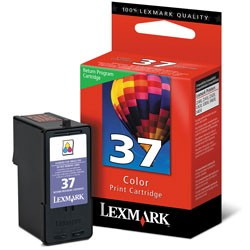 Lexmark No.37 Colour Return Program Print Cartridge