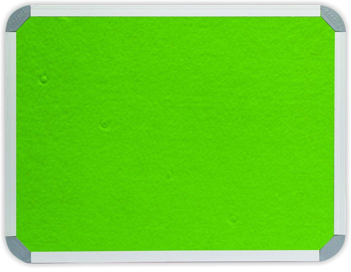 Parrot Info Board Aluminium Frame 900mmx900mm Lime Green