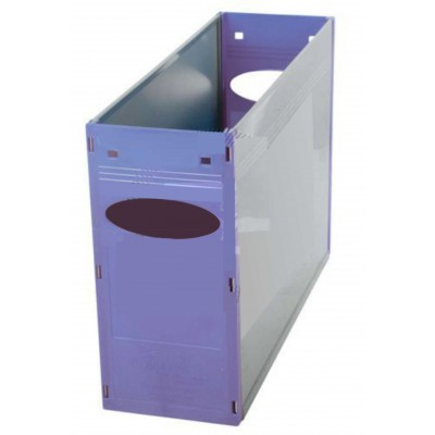 Tidy Files Solid Plastic Container A4-Mauve