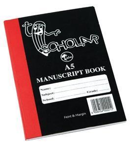 Manuscript A5 128PG Hard Cover