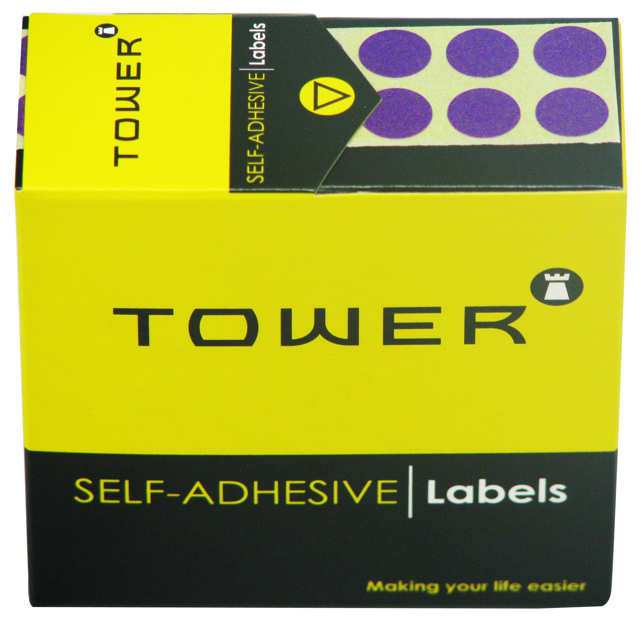 Tower C10 Label Purple