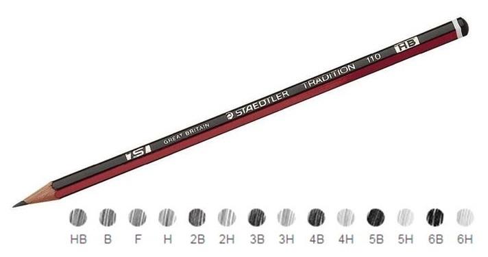 Staedtler Tradition Pencils 2H