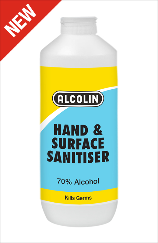 ALCOLIN HAND & SURFACE SANITISER 500ML
