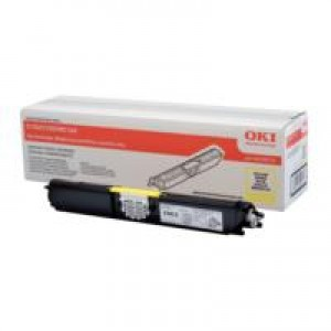 Oki 01-09-0101h C110-C130-M160 High Yield Yellow Toner