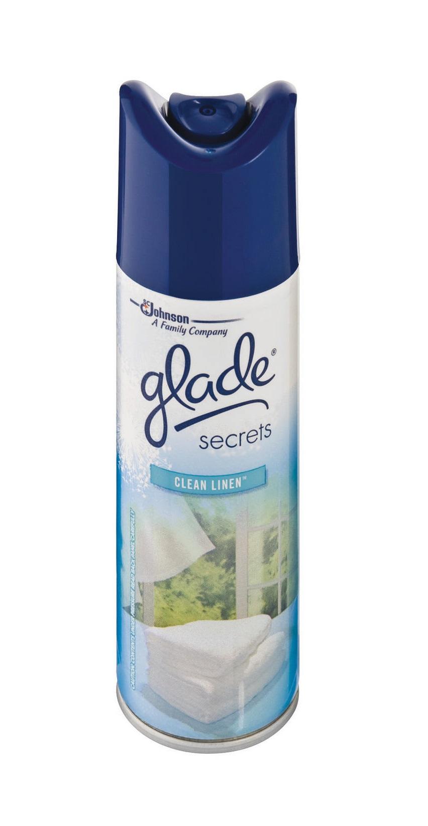 Glade Air Freshner Linen 180ml
